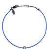 POP .10cts Diamond Bracelet/Anklet - Cobalt Blue/Black Ruthenium - POP Diamond Jewelry
