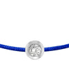 POP .10cts Diamond Bracelet/Anklet - Cobalt Blue/Sterling Silver - POP Diamond Jewelry