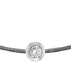 POP .10cts Diamond Bracelet/Anklet - Dark Grey/Sterling Silver