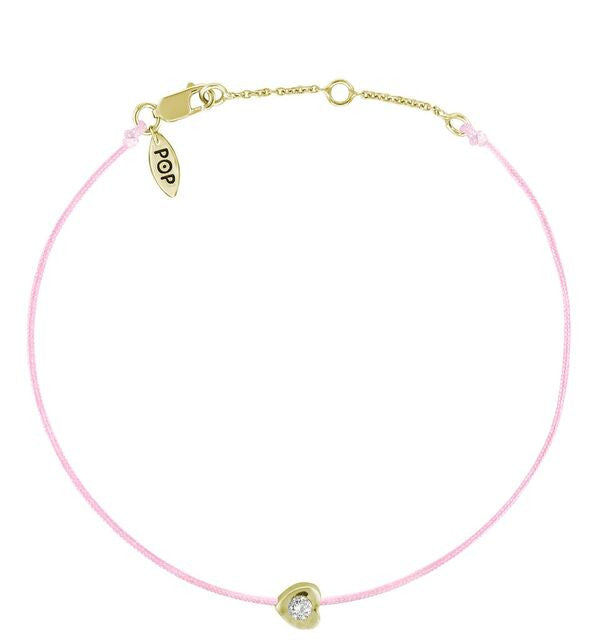 POP .10cts Diamond Love Bracelet - Yellow Gold