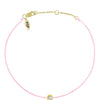 POP .10cts Diamond Bracelet/Anklet - Pink/Yellow Gold - POP Diamond Jewelry