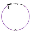 POP .10cts Diamond Bracelet/Anklet - Purple/Black Ruthenium - POP Diamond Jewelry