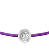 POP .10cts Diamond Bracelet/Anklet - Purple/Sterling Silver