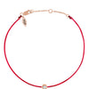 POP .10cts Diamond Bracelet/Anklet - Red/Rose Gold - POP Diamond Jewelry