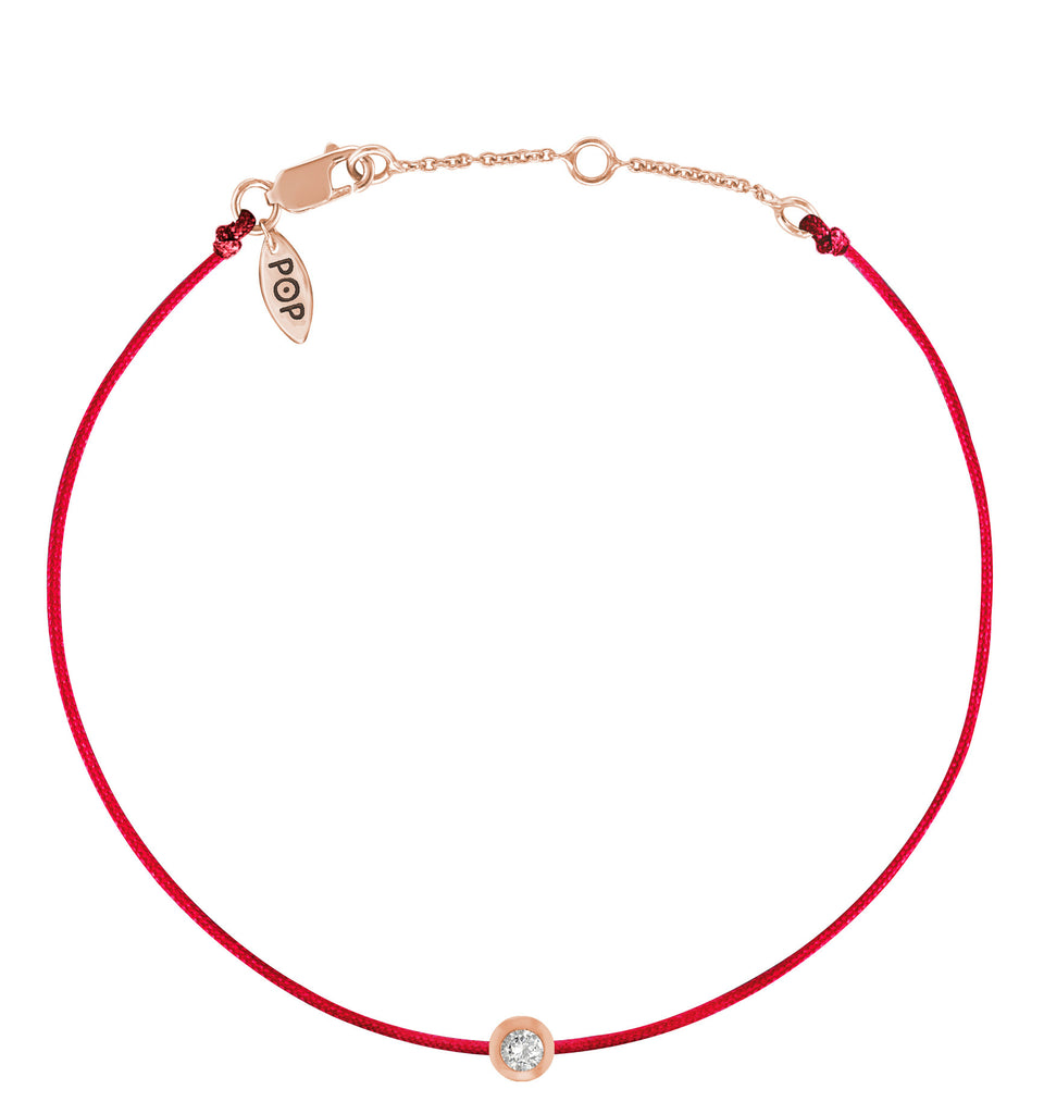 diamond bracelet pop rg rose jewelry products red gold anklet