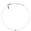 POP .10cts Diamond Bracelet/Anklet - White/Sterling Silver