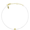 POP .10cts Diamond Bracelet/Anklet - White/Yellow Gold