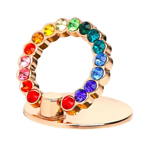 LAX Rainbow Sparkles Ring Holder Kick-Stand
