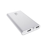 Hi-Speed 10000mAh Dual Port External Battery Power Bank - Gold
