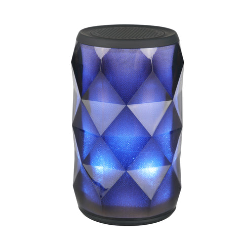 Crystal LED Bluetooth Speaker