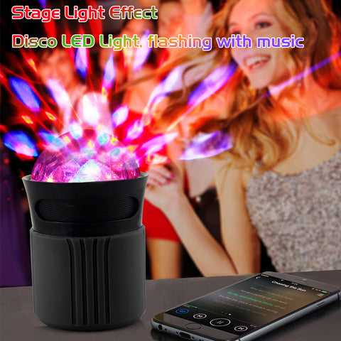 Laud Disco Lights Bluetooth Speaker with LED Dome