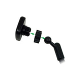 LAX Magnetic Car Mount Long Arm for Dashboard and Windshield for Smartphone and GPS Devices