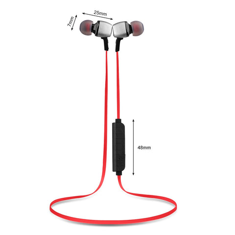 Bluetooth Wireless Smart Sports Stereo Earphones For iPhone LG Samsung