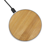 LAX 5W Wood - Bamboo Disk Wireless Charger