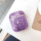 LAX Glitter AirPods Case Cover Protective Skin for Apple Airpods