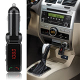 LAX Gadgets 3 in 1 Wireless Bluetooth Hands-free Calling, FM Transmitter USB SD and Car Charger