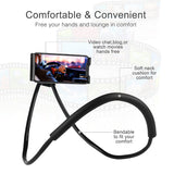 Universal Versatile Phone Mount, Hands-Free Stand, Neck Holder, Tripod for Smartphones, iPhone, Samsung