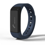 Smart Bracelet Bluetooth I5 Plus Waterproof Touch Screen Fitness Tracker Watch - Black