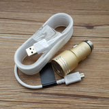 LAX Gadgets Dual Port Metal Car Charger 2.4A