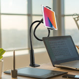 Goose Neck Tablet Clamp Desk Mount