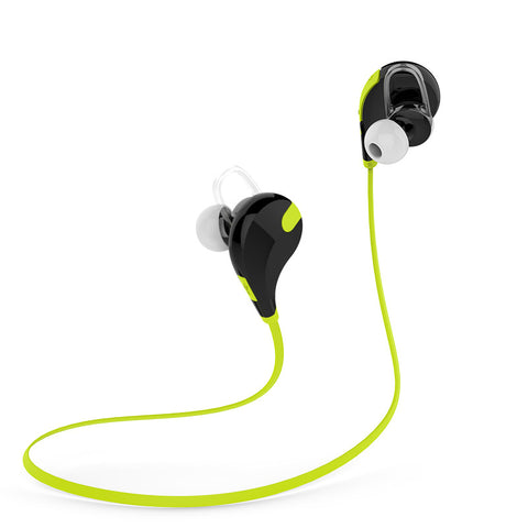 Laud Sports Sweatproof In-Ear Bluetooth Headphones EX7 with SecureHooks and Mic