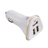 LAX 3-Port USB Car Charger