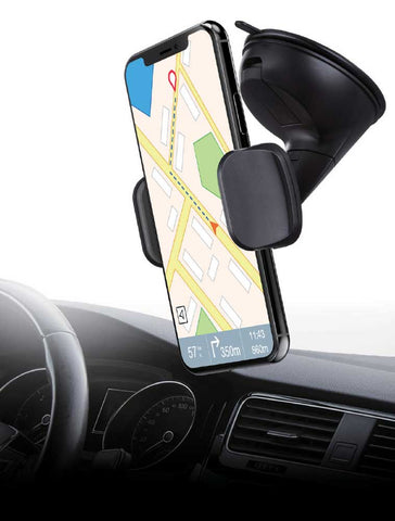 Universal Windshield/Dashboard phone holder Car Mount for iPhone Samsung GPS