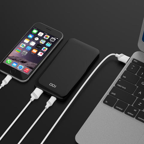 LAX 7200mAh Power Bank with Smart LED Display