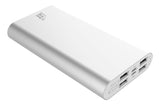 LAX Pro Series 16,800mAh Four USB Port Power Bank Rapid Charging External Backup Battery