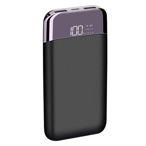 LAX Pro 12k Battery Pack - Charges your smartphone up to 6 times - for iPhone, Samsung, LG, Google