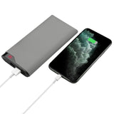 LAX Max Power Bank - 20,000mAh Battery Backup, Ultra Slim Design - Portable Charger Compatible with iPhone 11, 11 Pro, 11 Pro Max, X, XS Max, Samsung Galaxy S10, S9, More