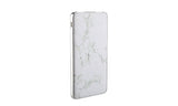 LAX Premium Marble Power Banks 8000mAh with USB Type C input and output