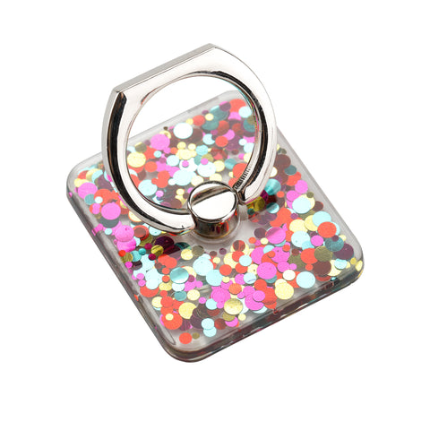LAX Phone Holder Ring & Stand - 360° Rotation - Secure Grip - Glitter Series