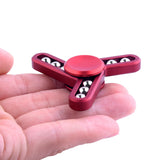 Metal Rattle Fidget Spinner Hand Toy for Kids and Adults