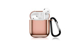 LAX AirPods Case Cover Metal Protective Skin for Apple Airpods