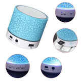 Bluetooth Wireless Portable LED Speaker with Disco Lights