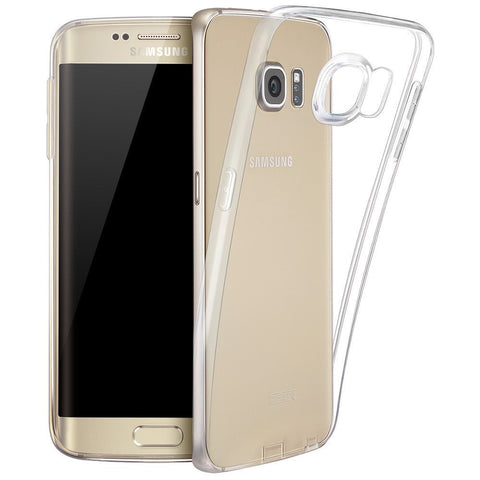 Samsung Galaxy S7 Case, Crystal Clear Slim Bumper Case For Samsung Galaxy S7 or Samsung Galaxy S7 Edge Scratch Resistant Hybrid Cover Case Shock Absorbing With Clear Hard Back