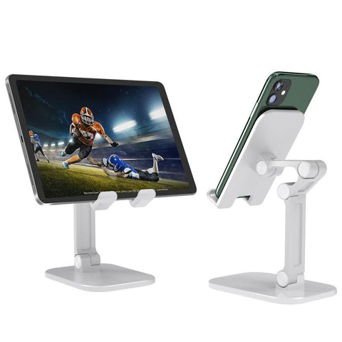 Universal Angle & Height Adjustable Tablet and Smartphone Desktop Stand