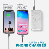 Travel Bundle: Marble 8000 mAh Powerbank with TrendyTech Lightning Cable