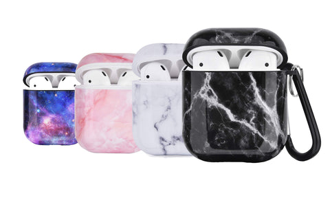 LAX AirPods Case Cover Silicone Protective Skin for Apple Airpods