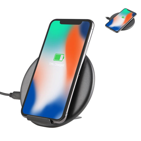 LAX 10W Fast Wireless Charging Dock - 7.5W Fast Charging for iPhone X / 8 / 8 Plus