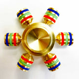 Luxury Metalic Fidget Spinner Anxiety and Stress Reliever Toy - Gold