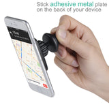 LAX Premium Magnetic Air Vent Car Mount Phone Holder for iPhone, Samsung, Smartphone