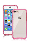 iPhone 7 / 7 Plus Case, Clear Anti-Scratch Soft Flexible Shock Absorption TPU Technology Cover