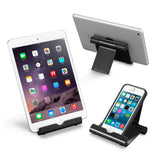 Adjustable Aluminum Tablet Stand for iPad, eReaders, and Smartphones by LAX Gadgets