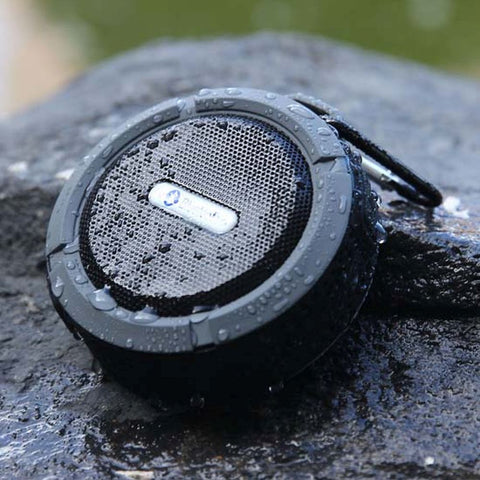 Rugged Waterproof Bluetooth Speaker for iPhone and Android