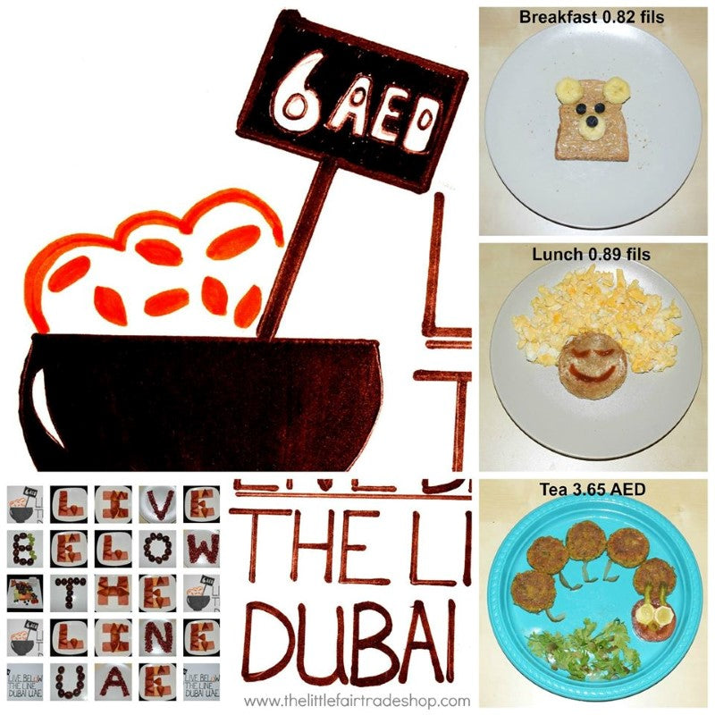 Live Below The Line 2014 - Dubai, UAE - Sabeena Ahmed and The Little Fair Trade Shop