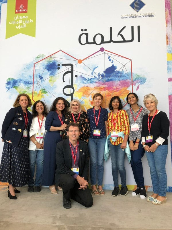 Sabeena Ahmed - Playwright Course and Readings with Alex Broun at the Emirates Airline Festival of Literature 2019