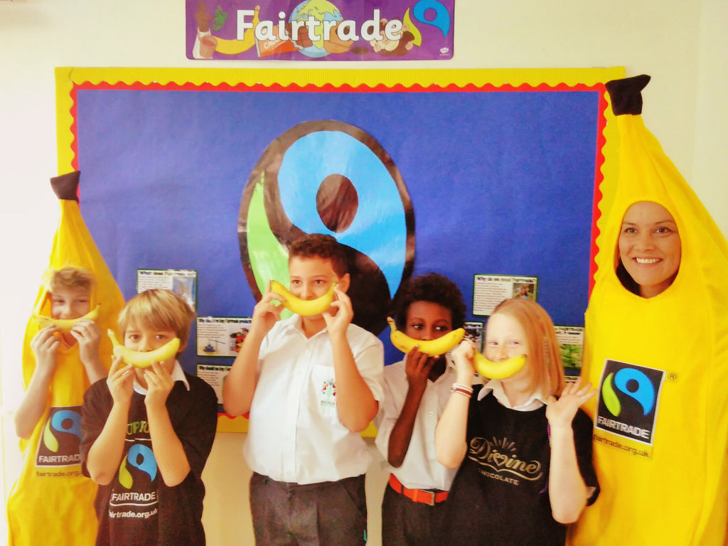 Teaching fair trade at the Manor Primary School, Dubai, United Arab Emirates