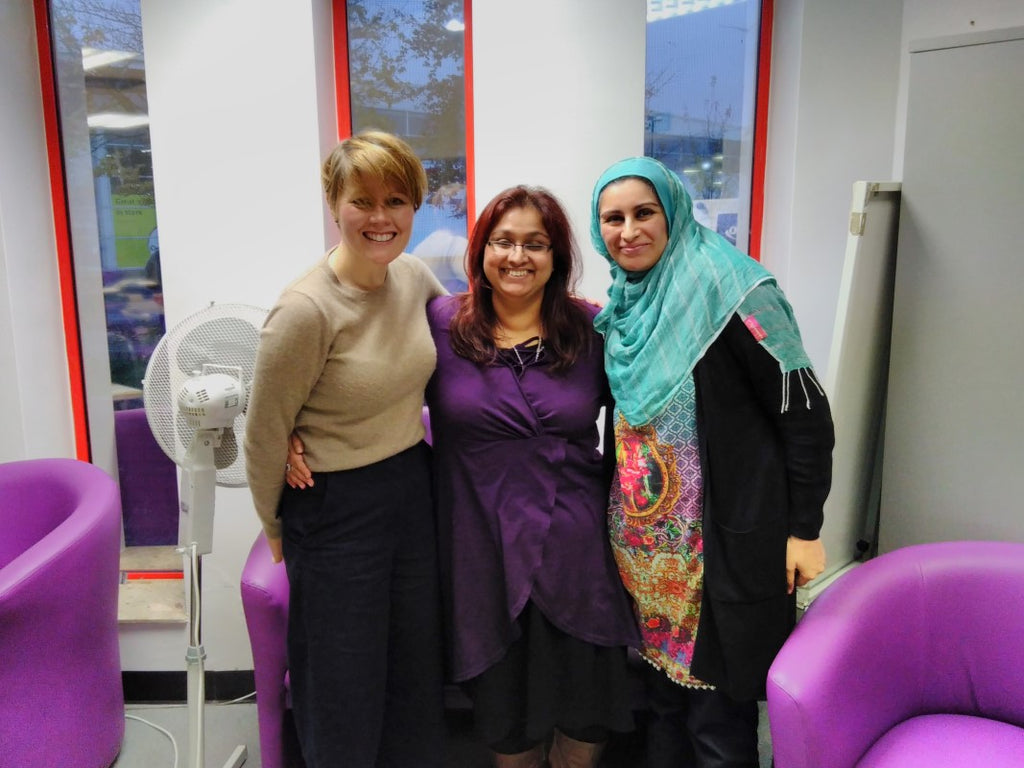 Women's Words Workshop - Gorton Library (November 2017)